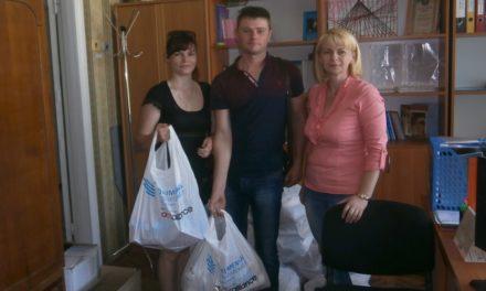 Родини внутрішньо переміщених осіб отримали гуманітарну допомогу