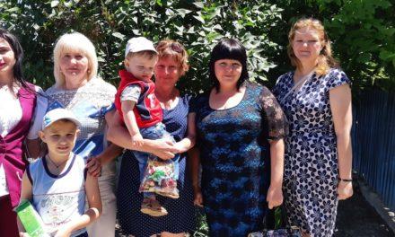 Святкування Дня захисту дітей в Нижньосірогозькому районі