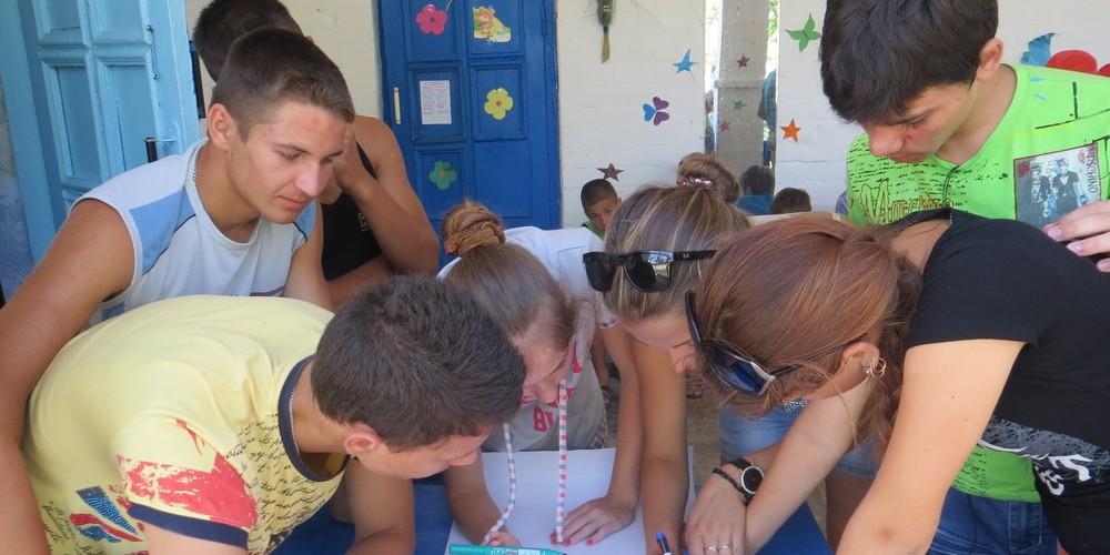 Оздоровлення дітей на березі моря у Генічеському районі