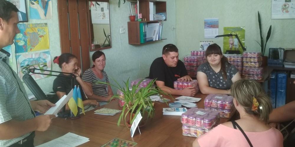 Благодійна акція за підтримки торгової марки «Ложка в долоньці»